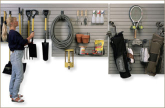 organize your garage to gain more useful space