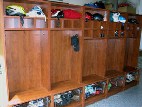 Mud Room Organizer