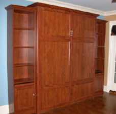 Wall unit storage and organization
