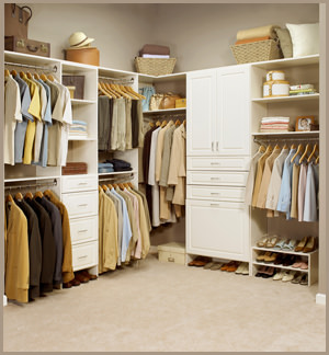 experienced professionals create your home closet systems